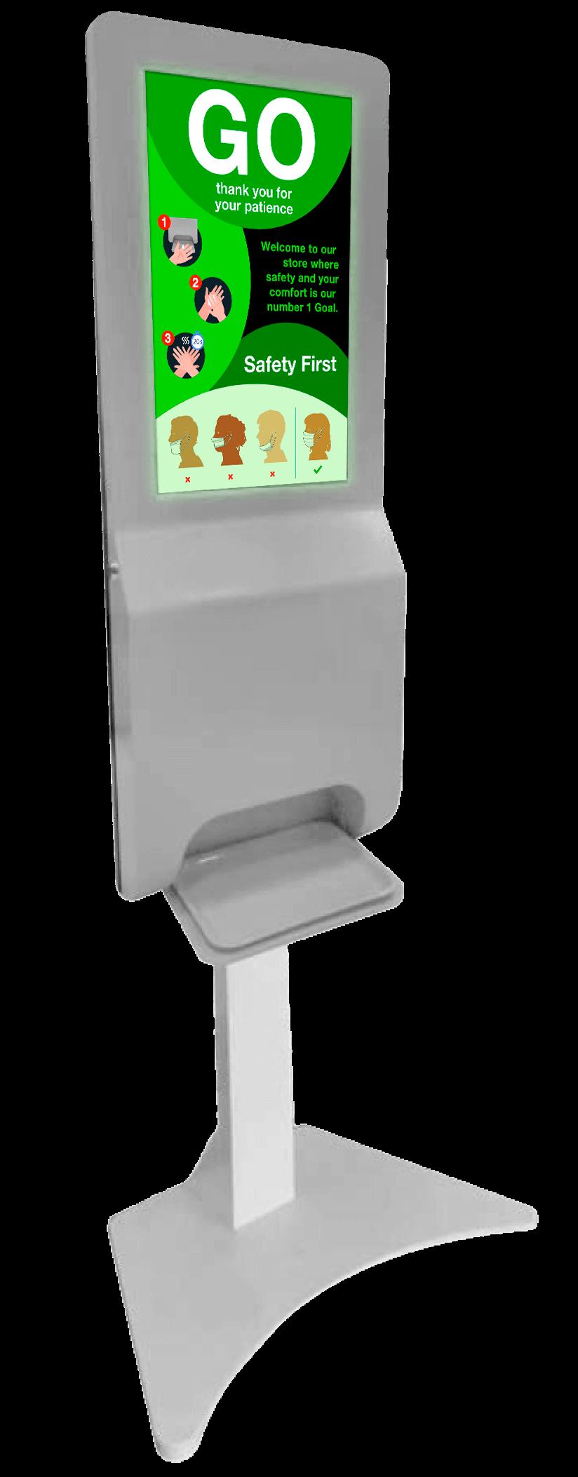 Kiosk stand GO